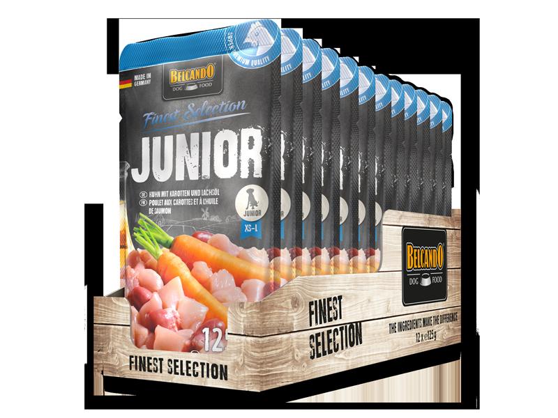 BELCANDO® Junior Chicken with carrots & salmon oil