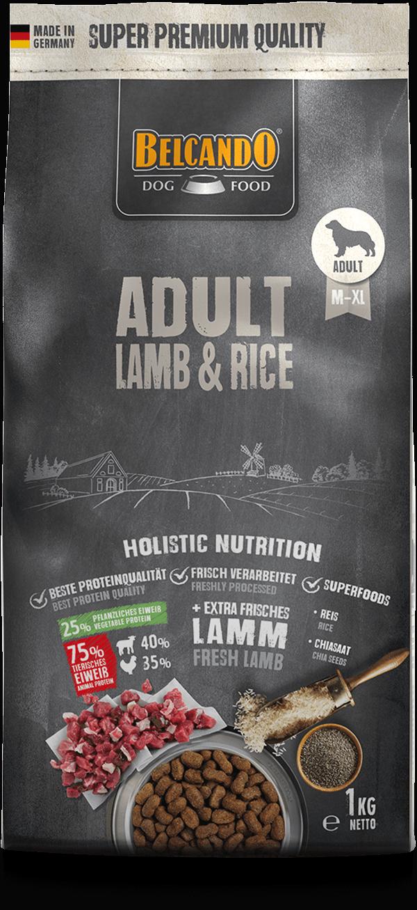 Belcando-Adult-Lamb-Rice-1kg-front